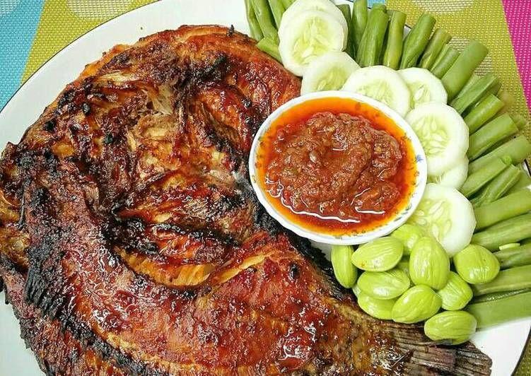 Resep Nila Bakar Pedas Manis Oleh Susan Mellyani Resep Resep Ikan Bakar Resep Ikan Saus Ikan