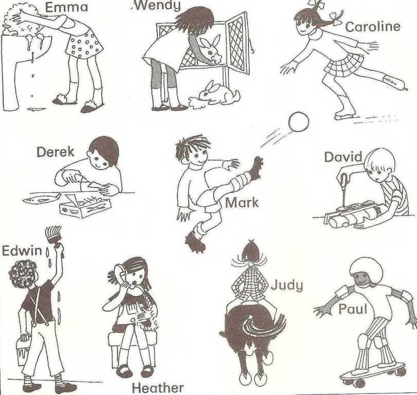 present continuous exercises multiple choice pdf