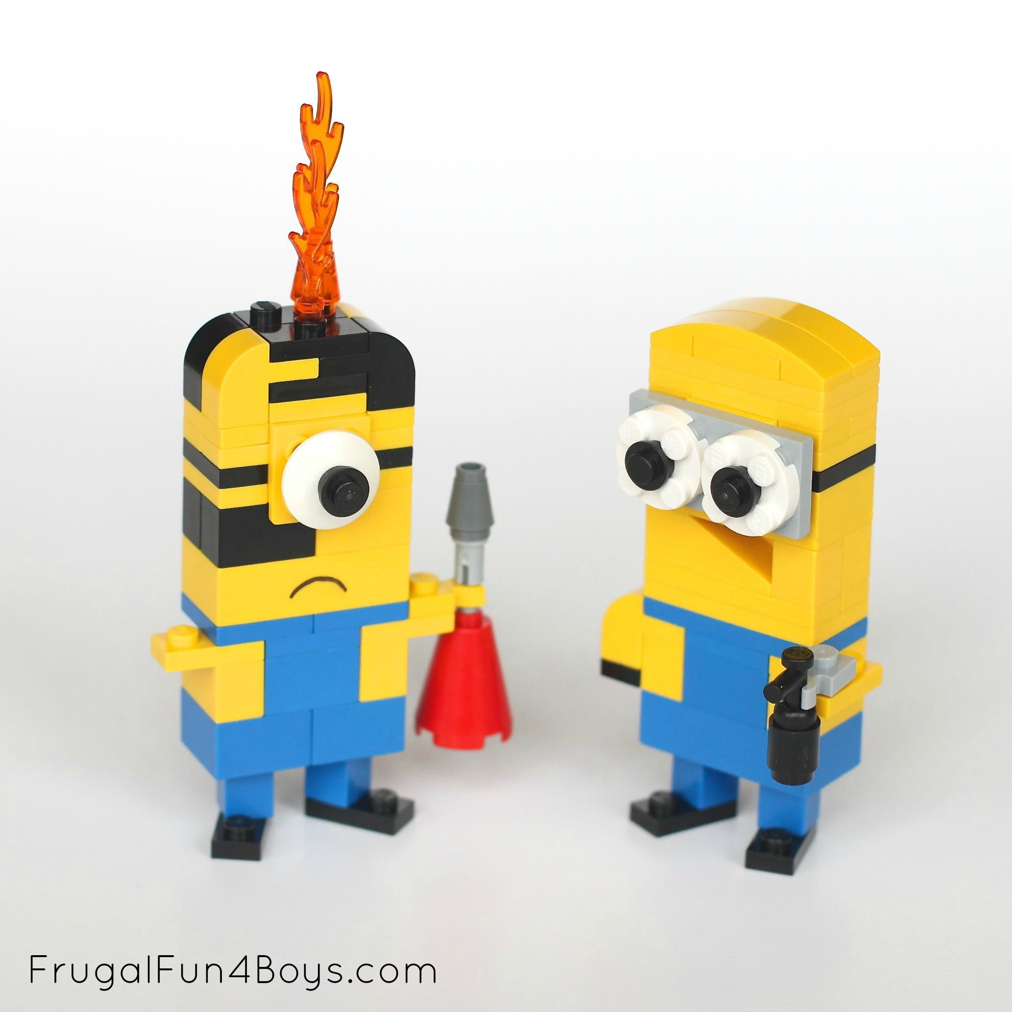 Lego Minions Building Instructions Lego Building
