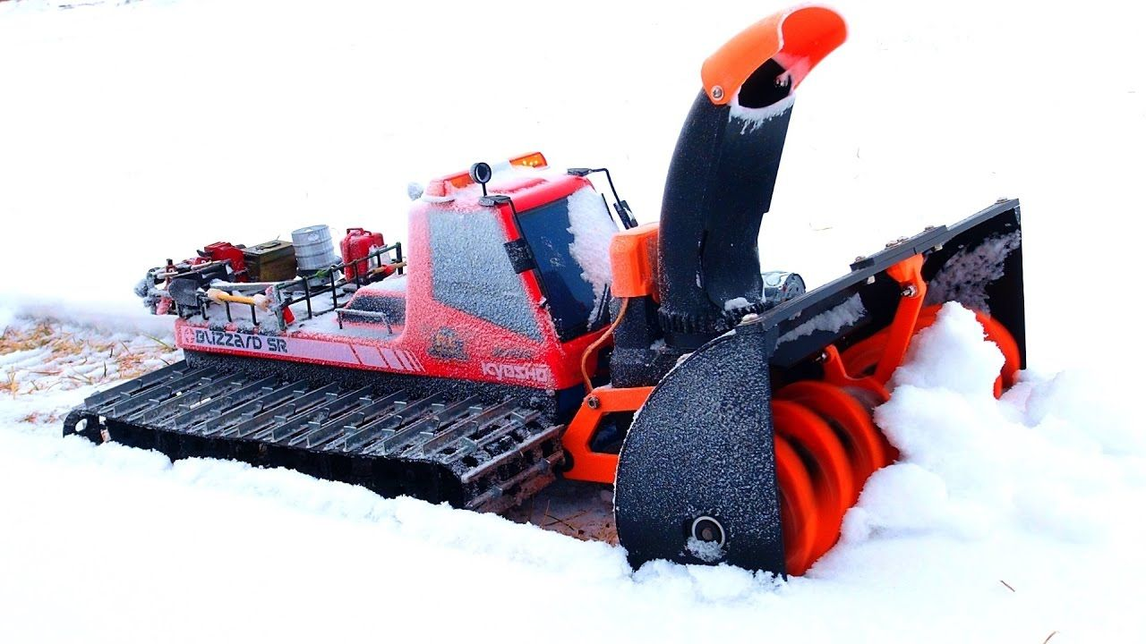 Rc Adventures Amazing 3d Printed Snow Blower Tree Branch Clog