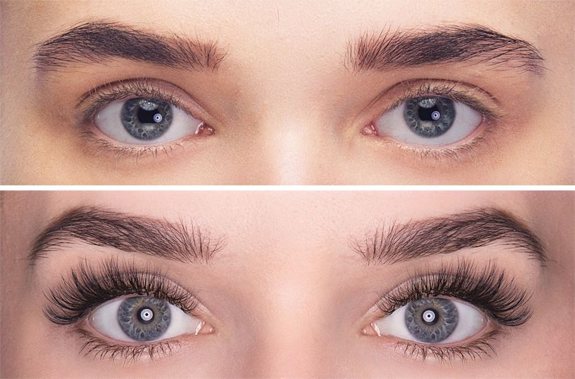 188735244b3 before and after volume lash Make Eyelashes Grow, Fake Eyelashes, Eyelash  Extensions, Human