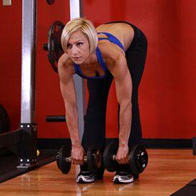 Bodybuilding.com - Stiff-Legged Dumbbell Deadlift - Female ...