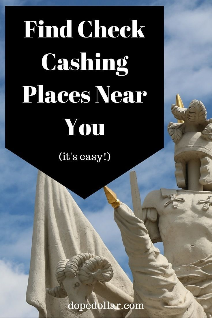 place to cash a check near me