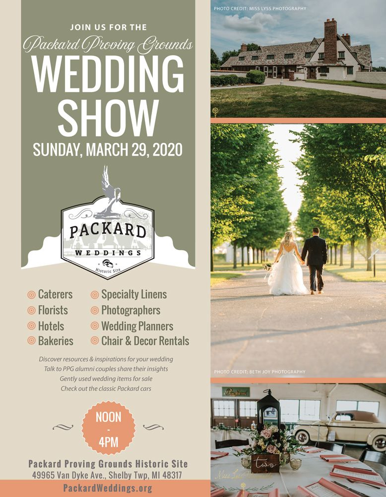 Ppg 2020 Wedding Show Flyer In 2020 Wedding Show Wedding Catering Wedding Catering Cost