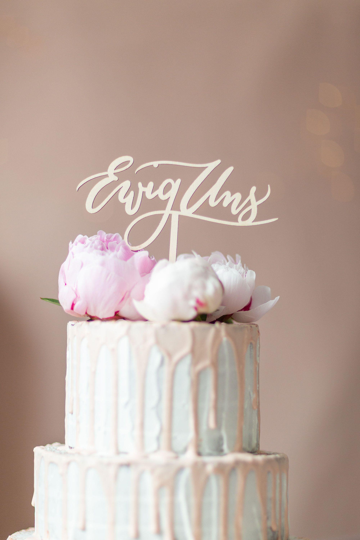 logo cake sticker design Cake Topper Wedding Eternal Us Wooden, Cake Topper Wedding, Cake