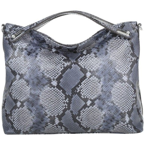 Abro Adria Diamant Lux Snake Hobo Bag Navy In Blue Shoulder Bags