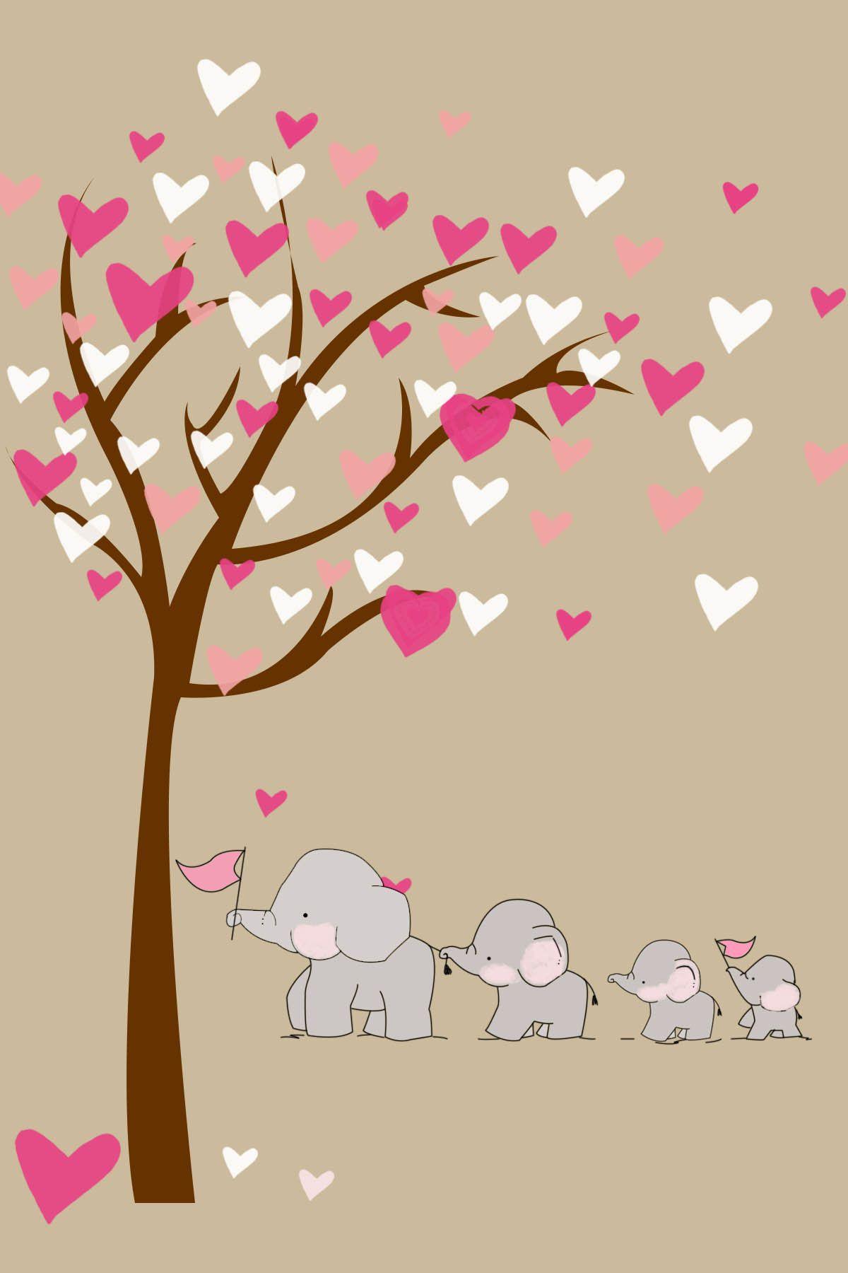 Phone Case On Behance Baby Elephant Drawing Elephant Drawing Elephant Wallpaper