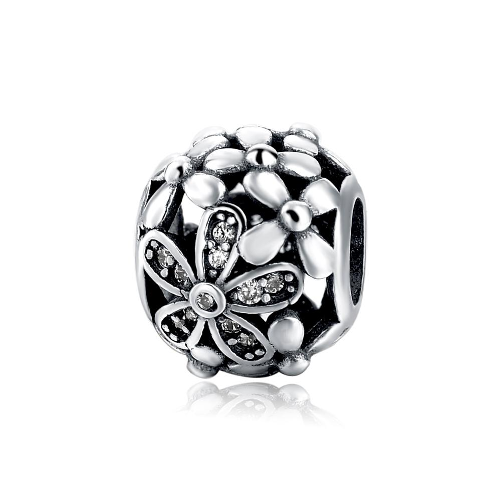 Genuine 925 Sterling Silver Ball Beads For Ring Bracelet Necklace DIY Jewellery