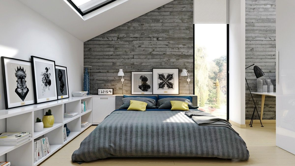 Loft bedroom style  Industrial Style Bedroom Design The Essential Guide  Industrial