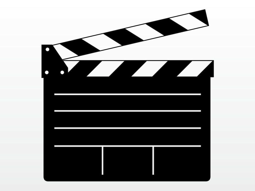 Free Hollywood Clip Art Vector Free Movie Clipart Clip Art
