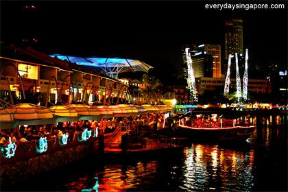 Clarke Quay Singapore The Absolute Best Satay Singapore River Best Places In Singapore Singapore