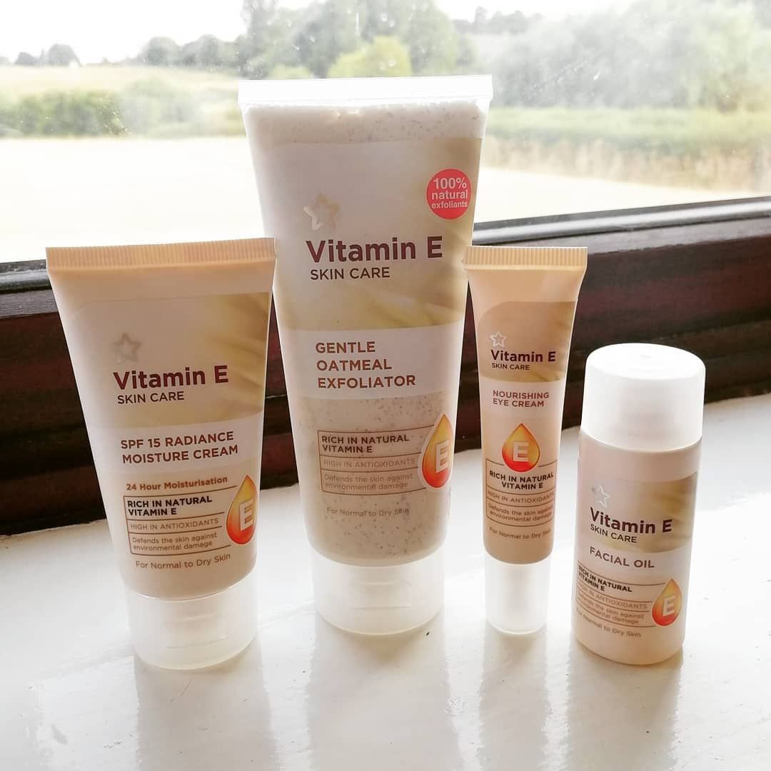 Superdrug Uk Affordable Skincare Line Vitamin E Products Spf 15 Radiance Moisture Cream Lotion Gentle Affordable Skin Care Cruelty Free Skin Care Skin Care