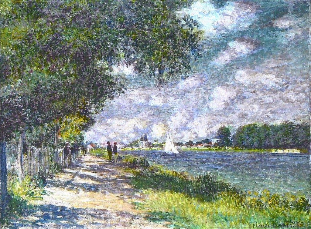 a look at the 1875 impressionist art piece claude monets le basin dargenteuil Le van, marthe 500 bracelets: an inspiring collection of extraordinary designs  what employers look for - whether they know it or not 6 secrets of king tut 60 second recap 60 second.