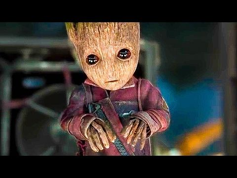 Guardians Of The Galaxy 2 Baby Groot Help Trailer 2017 Chris Pratt Action Movie Hd Youtube Guardians Of The Galaxy Baby Groot Superhero Movies