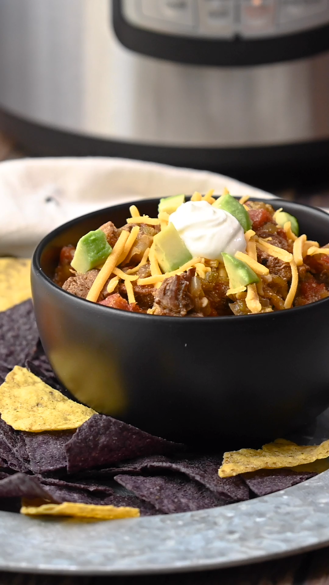 Photo of Instant Pot Green Chile Beef