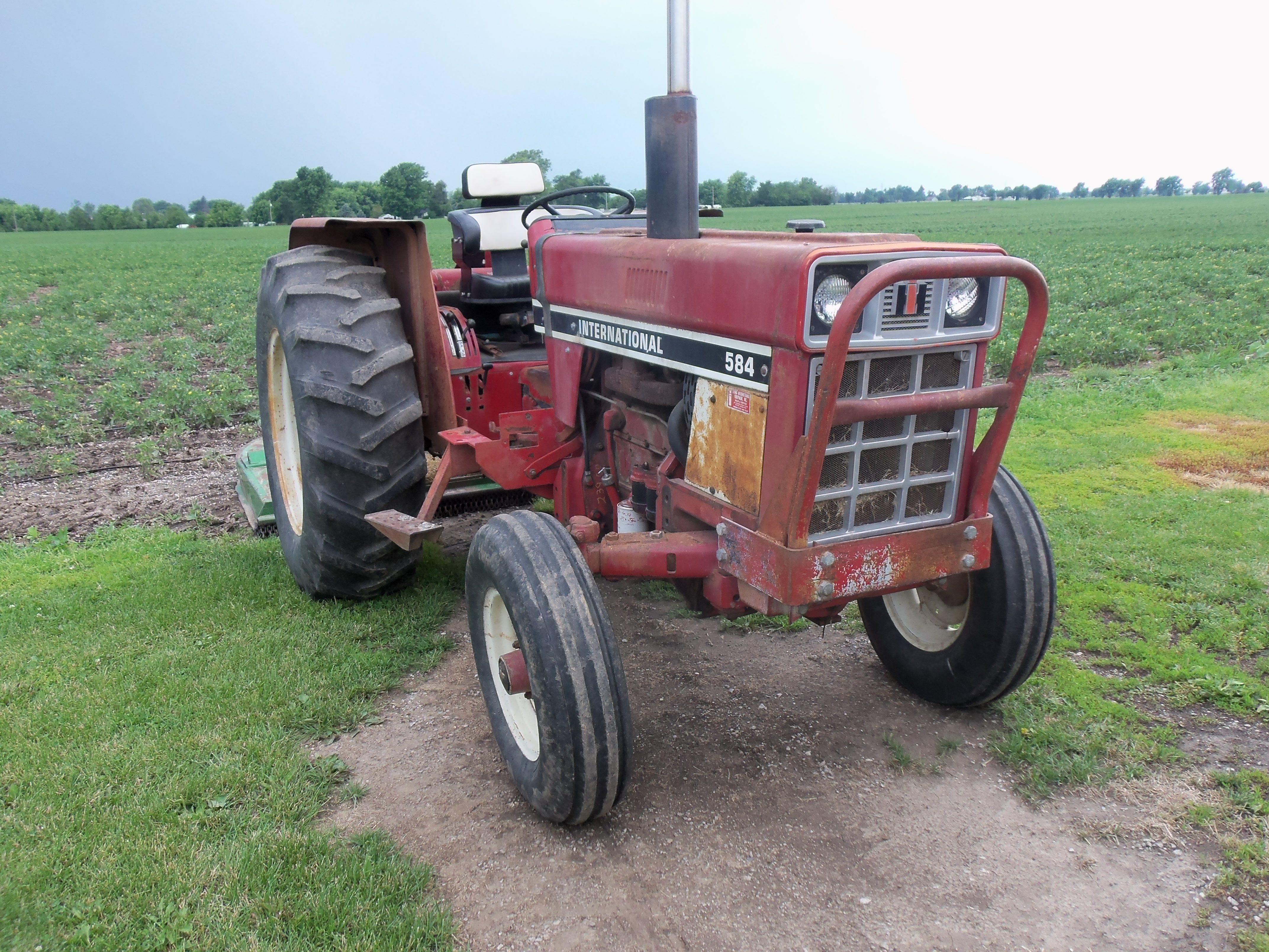 IH 584 | International-Farmall | International harvester