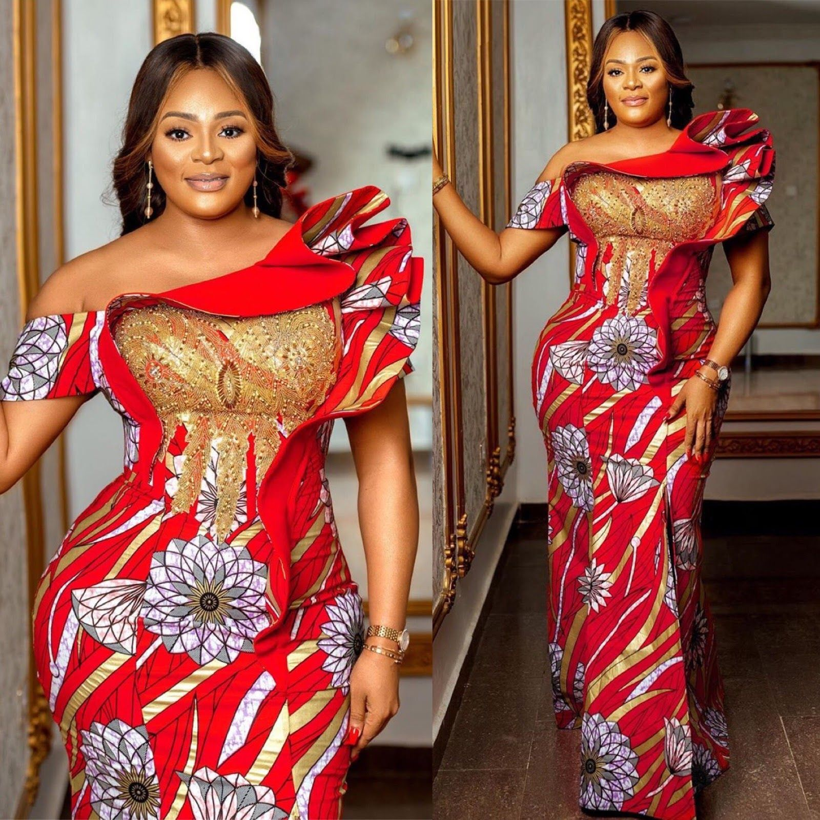 Photo of Classy Fashion and Style Dress For African Woman