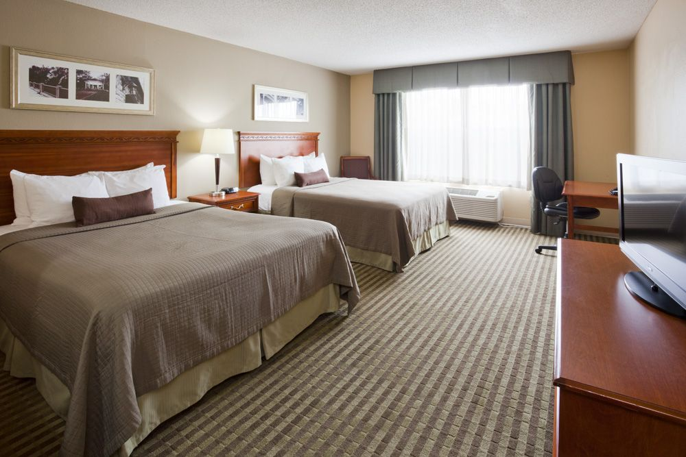 Our standard double room just for you and the family!