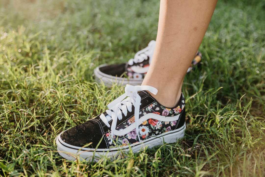 Vans Floral Old Skool Shoes | Shoes