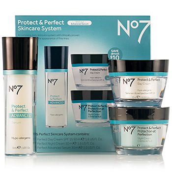 Love that I got 20% off No7 Protect & Perfect Advanced Skincare System from Boots Retail USA for $54.99.