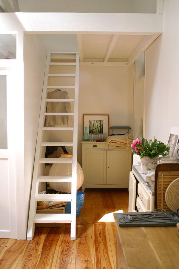 Escalier mezzanine recherche google deco chambre pinterest escalier m - Escalier lit mezzanine ...
