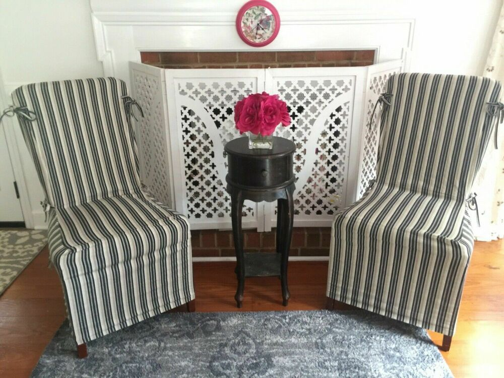 pottery barn chair covers cleaning