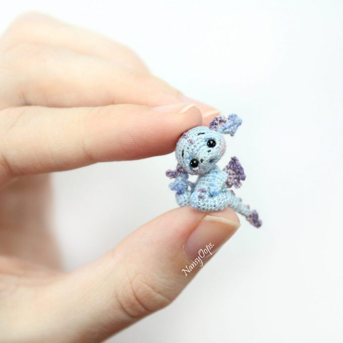 Crochet Miniature Dragons have become an Internet Sensation and this is How You Make Them
