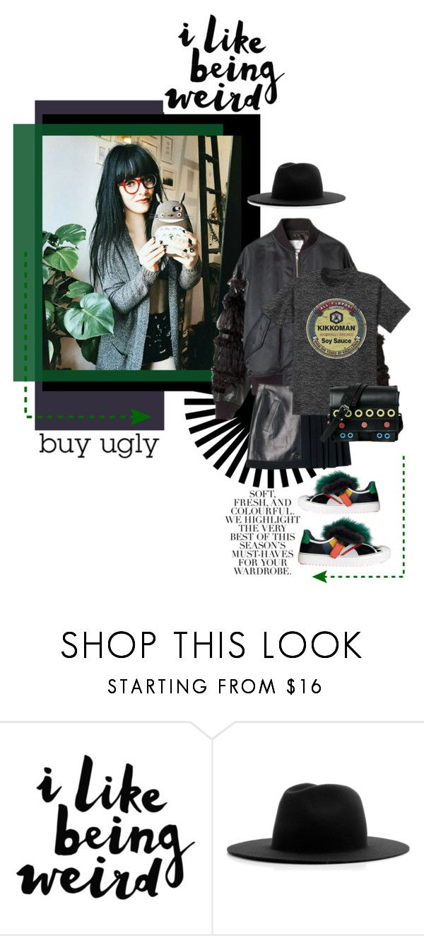 """""""lovin the ugly"""" by mkanzee ❤ liked on Polyvore featuring Folio, Études, uglyshoes and WeirdLove"""