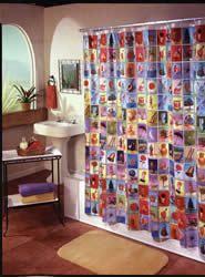 Ahhhh The Zarela Loteria Shower Curtain
