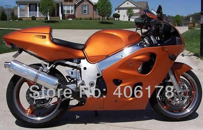 Hot Sales Gsxr600 Fairing For Suzuki Gsxr 600 Gsxr750 1996 1997 1998 1999 2000 Gsx R600 Orange Srad 96 00 Motorcycle Fai Gsxr 600 Gsxr 600 For Sale Suzuki Gsxr