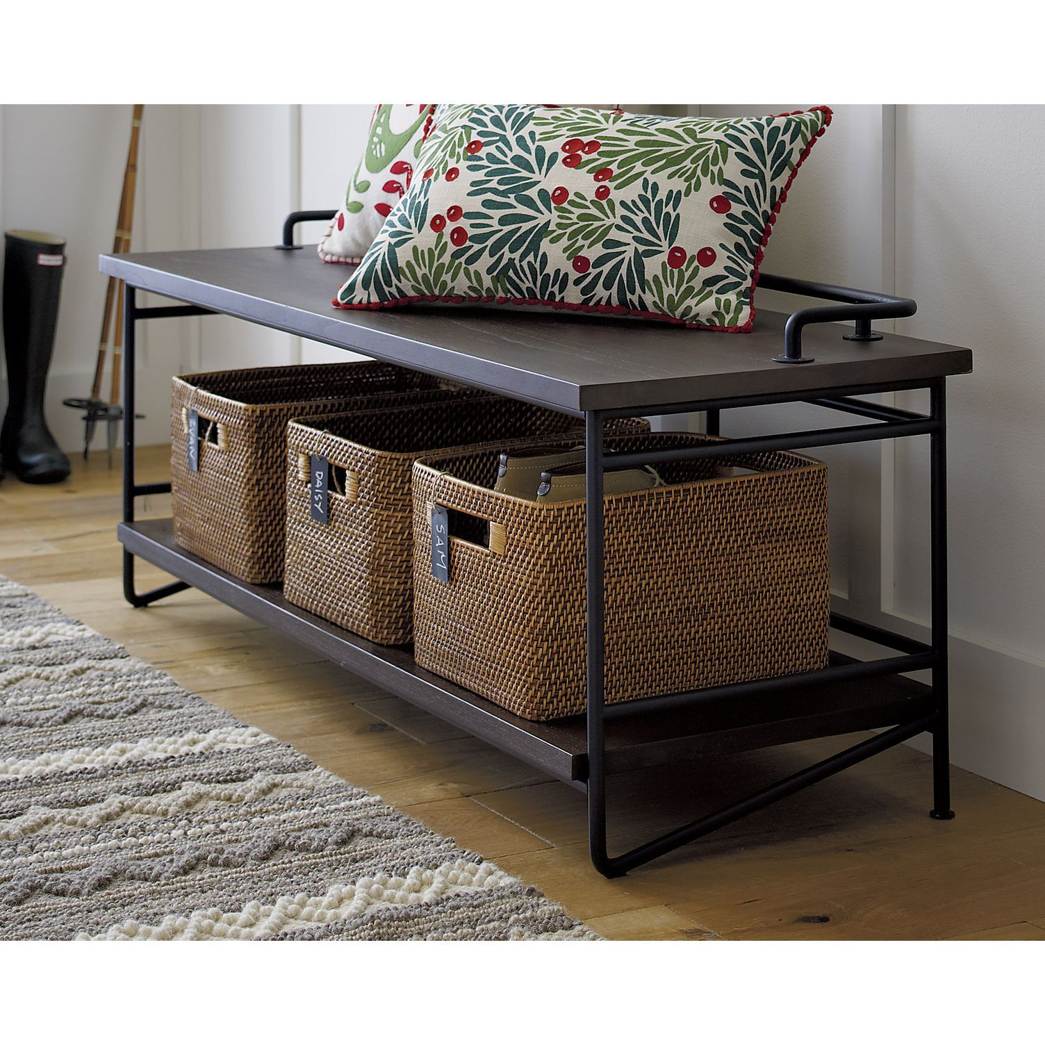 Andes Bench In Benches Crate And Barrel Home Decor Crate