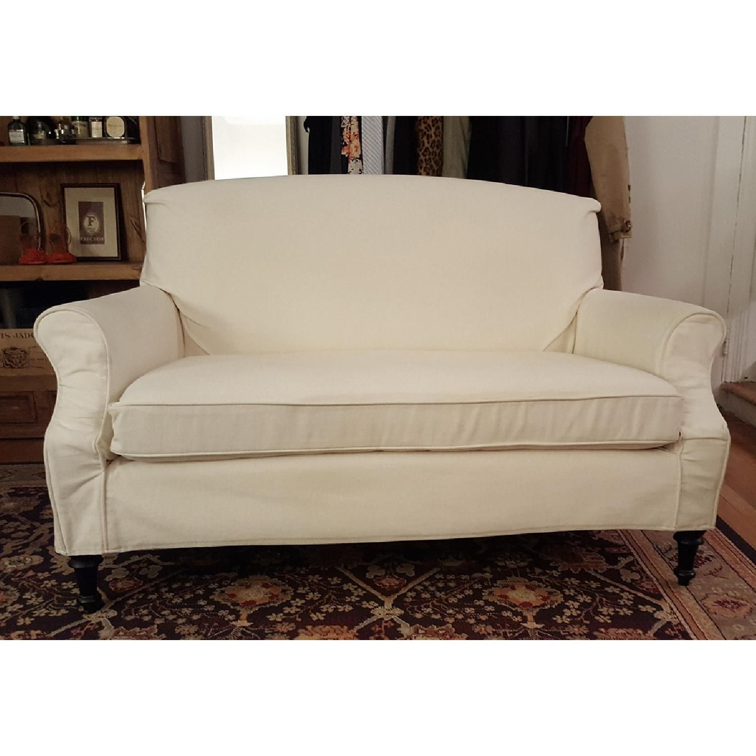 Mitchell Gold for Crate & Barrel Astor Settee