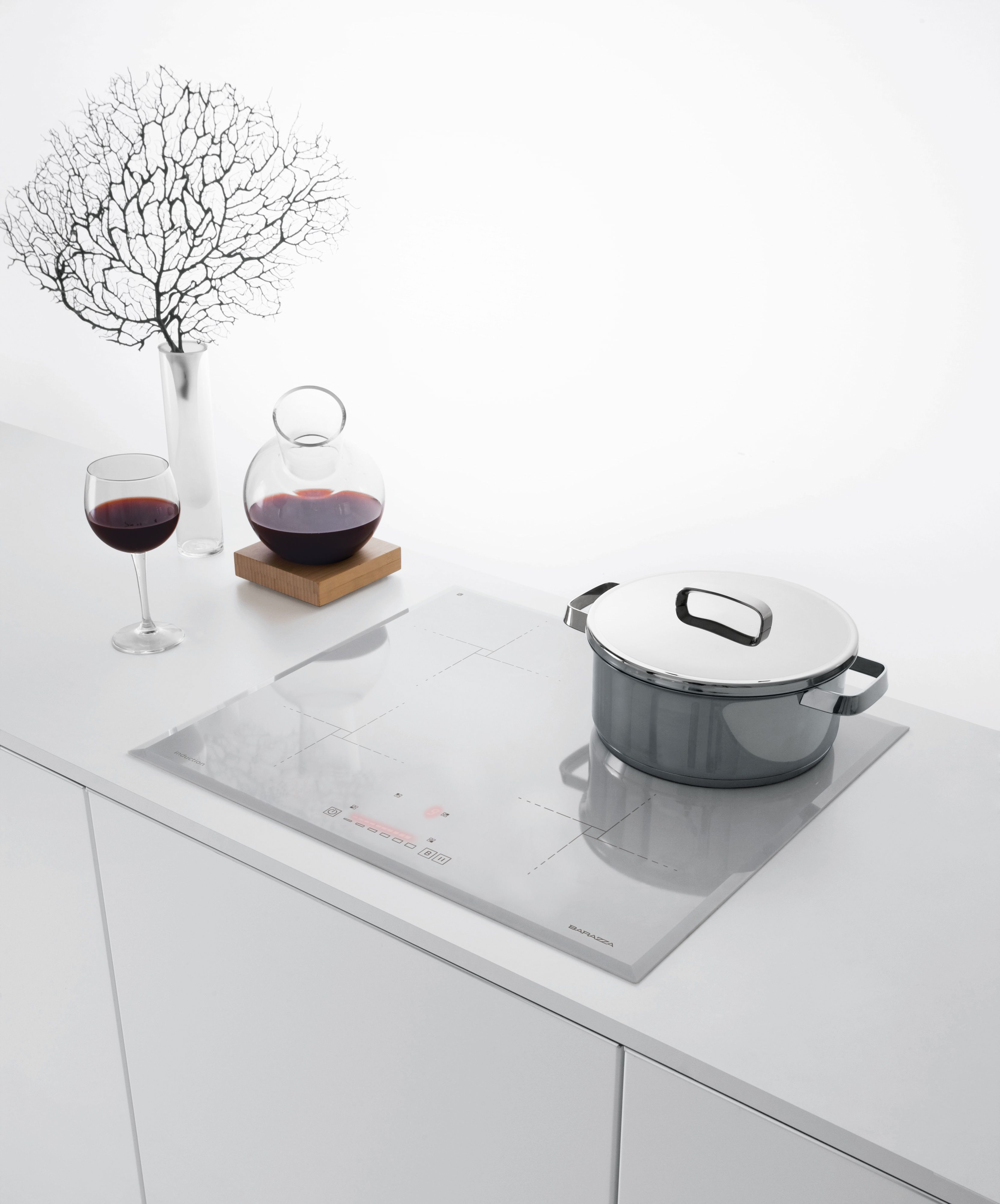 Uncategorized Kitchen Appliances Manufacturer italian appliance manufacturer barazza have jumped on the white cooktop bandwagon with a 60cm induction