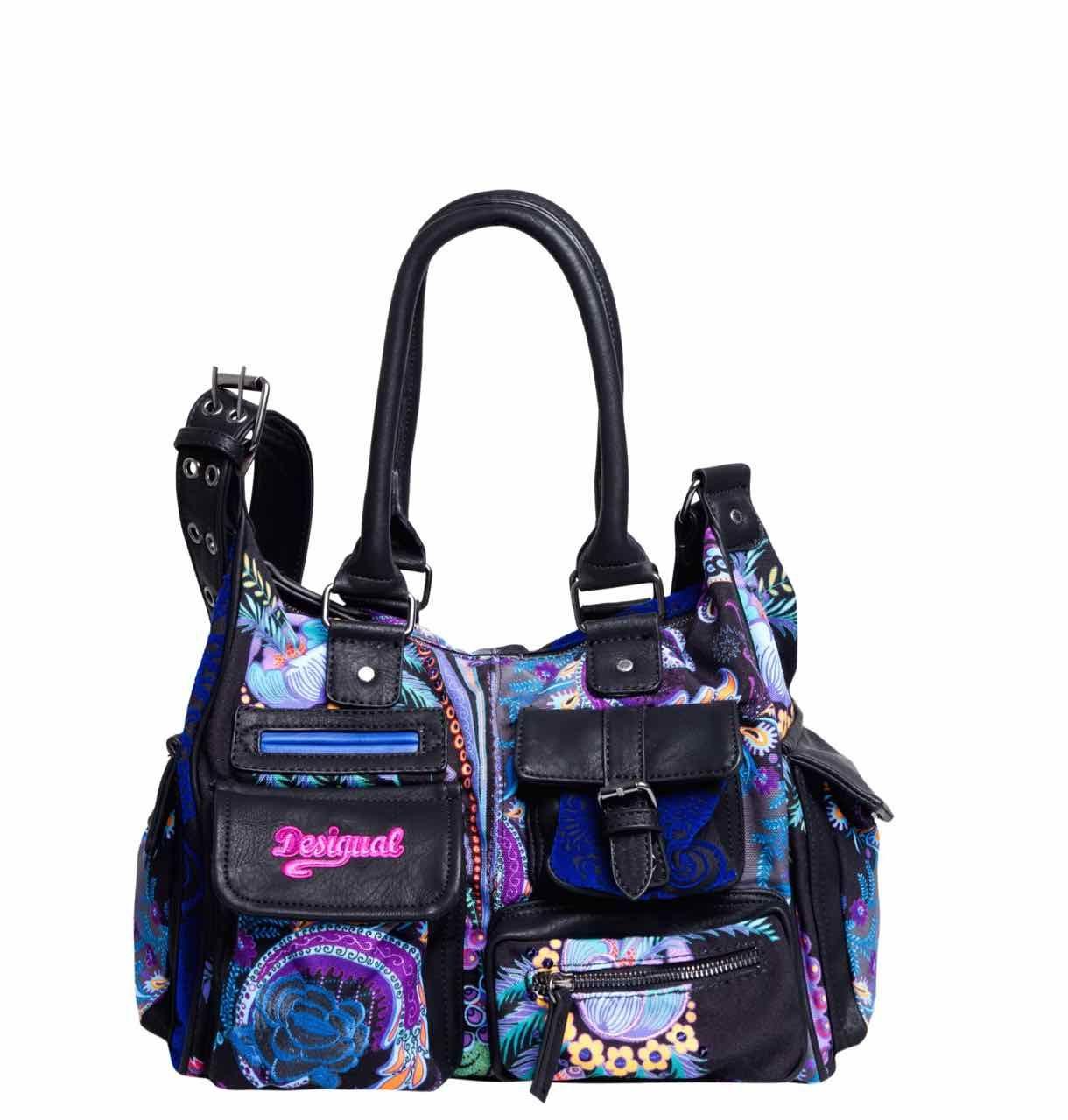 taille 7 prix le plus bas Quantité limitée 57X51Y1_5060 Desigual Bag London Medium Dreamland, Canada ...