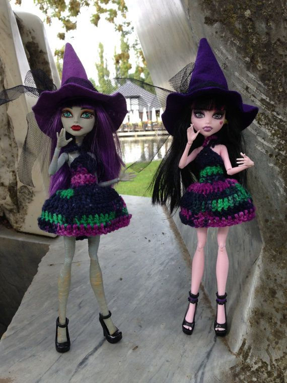 Monster High Doll Clothes Halloween Dress with by HauntedFashion, €11.00