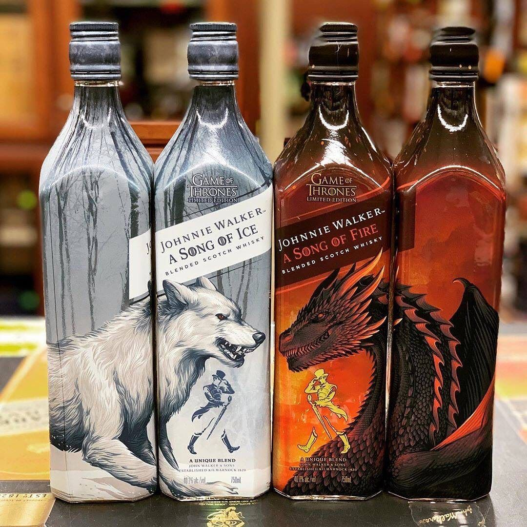 Guys, important stuff: Johnnie Walker is producing two new 'A Song of Ice and Fire' whiskies.