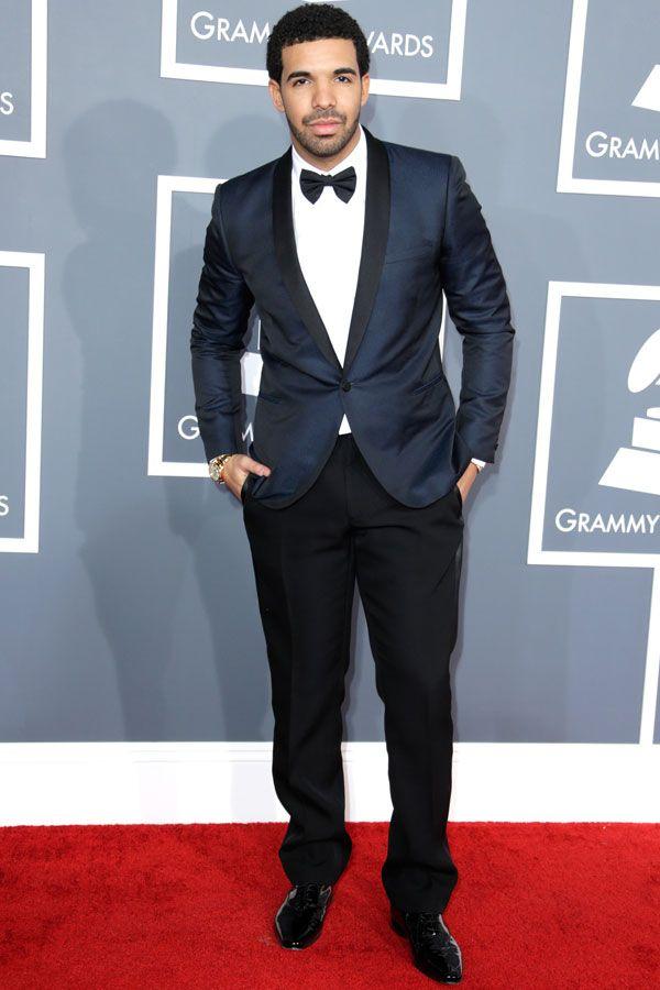 Drake Classes The Grammy Carpet Up
