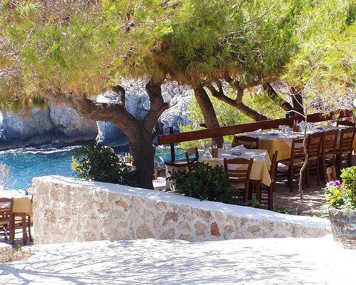 Porto Limnionas, Zakynthos. My favourite place on the island!   Zakynthos greece, Greece holiday, Zakynthos