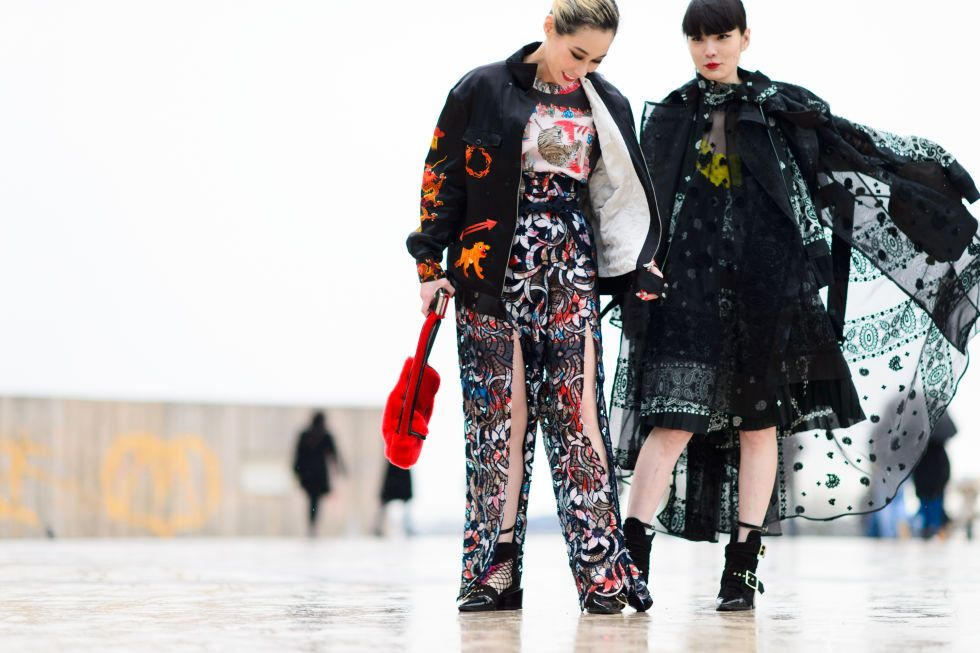 Top 50 Paris Fashion Week Fall 2016 Street Style Looks - FashionFiles