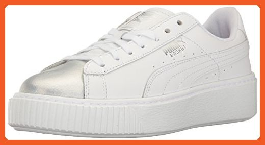c6de4118f7d7 Athletic Shoes · Pumas · PUMA Women s Basket Platform Iridescent Field  Hockey Shoe