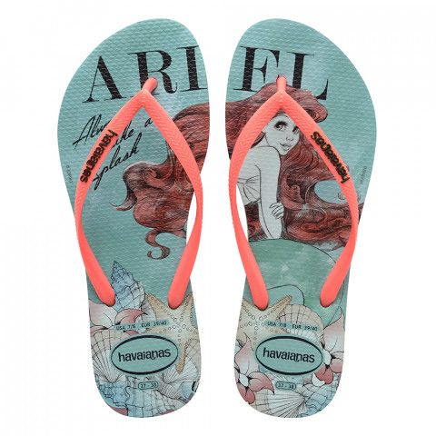 62683984c514 Look more sexier and gorgeous with these lovely flip flops! Havaianas Slim  Princess Mint Green