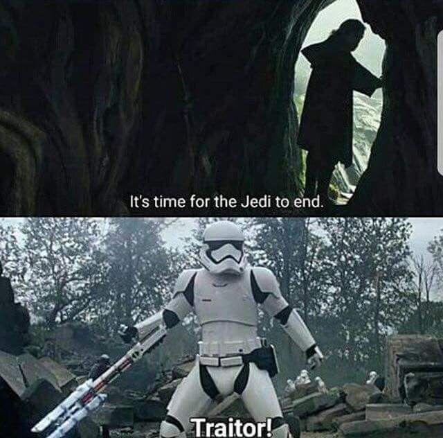 Traitor Luke If You Die I Won T Be Able To Go On Starwars Inagalaxyfarfaraway Star Wars Humor Star Wars Memes New Star Wars
