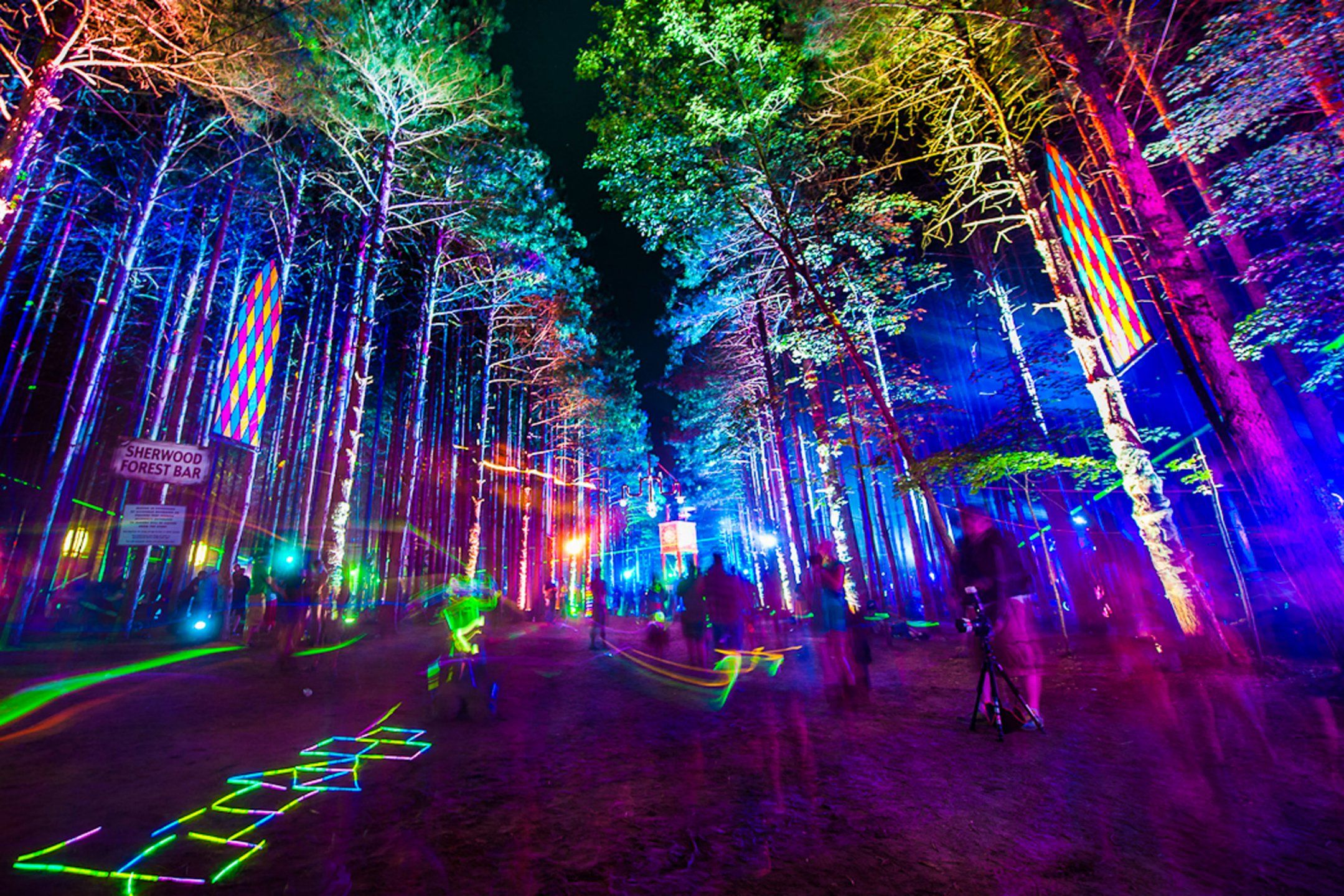 Electric Forest music festival in Rothbury, Michigan/WOULD LOVE TO GO  FOR THIS AND THEN GO ALL OVER TO DISCOVER NEW THINGS AND PLACES