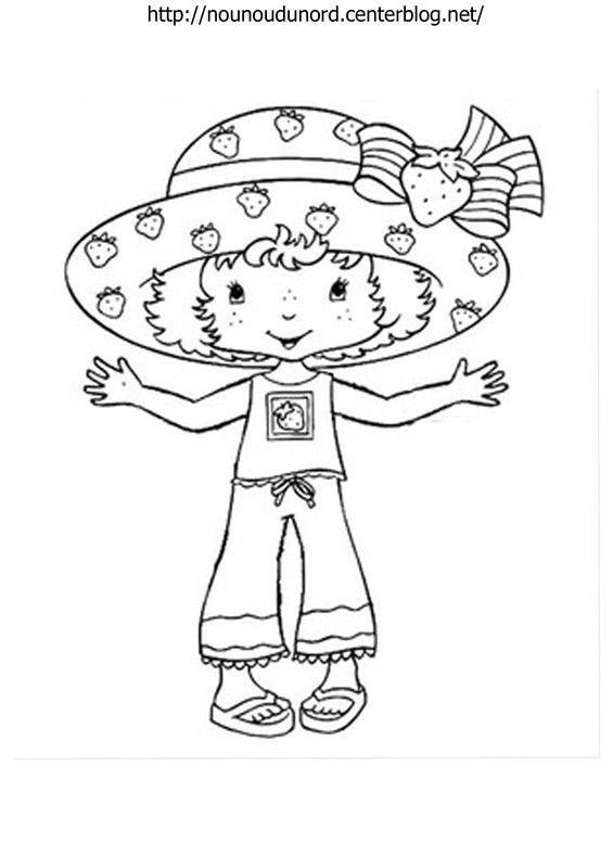 coloriage charlotte aux fraises   Coloring Pages   Pinterest ...