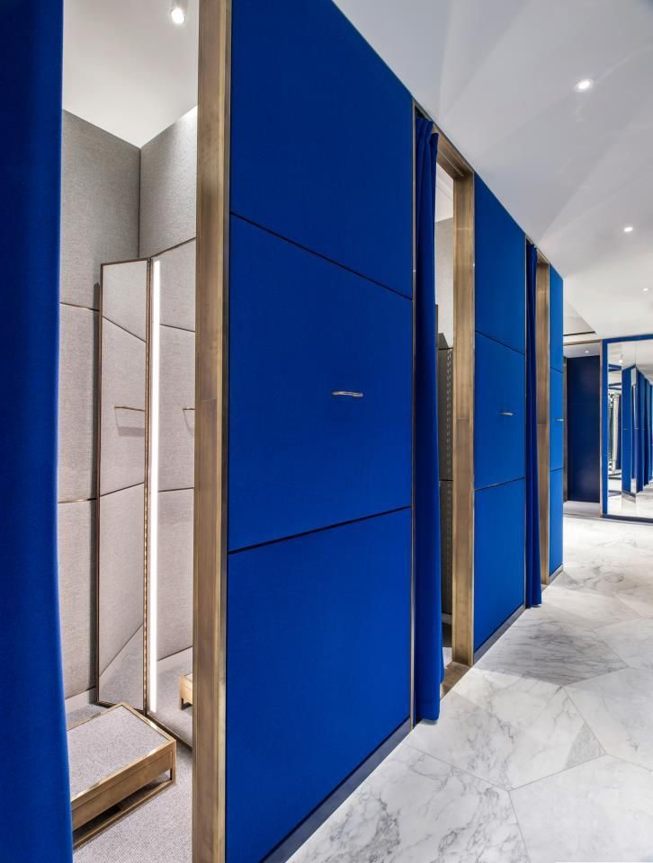 9a484a1a38c4 Selfridges Designer Menswear Space by Alex Cochrane Architects photo by  Andrew Meredith