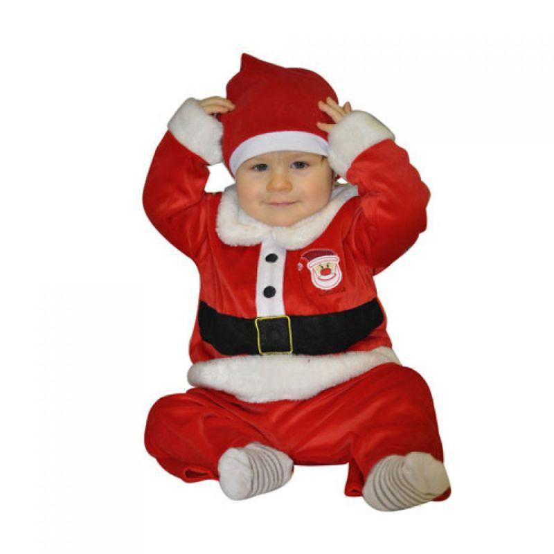 83428d2a30717 Ce déguisement de père noël pour bébé comprend une veste