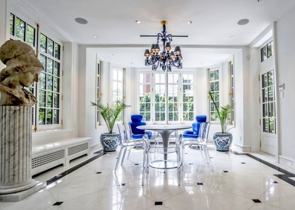 La nouvelle maison de Gregory Charles Dining - tva construction maison neuve
