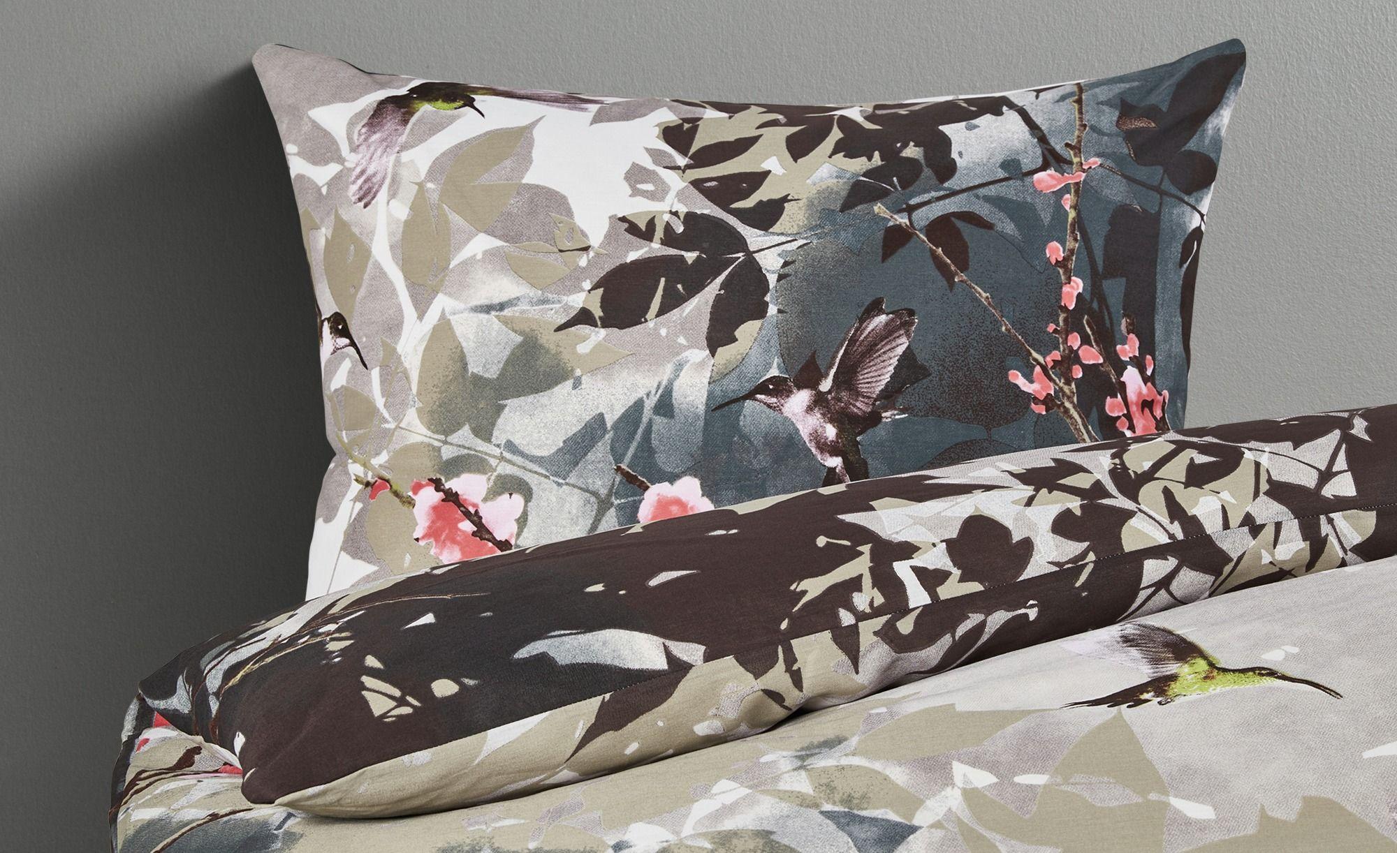 Steppdecke 100 Baumwolle Federbett 155x220 Kopfkissen Decke