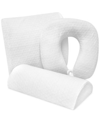 Sensorgel Luxury Pressure Relieving Gel Infused Memory Foam Specialty Pillows Reviews Mattress Pads Toppers Bed Bath Macy S Memory Foam Pillows Pillow Reviews