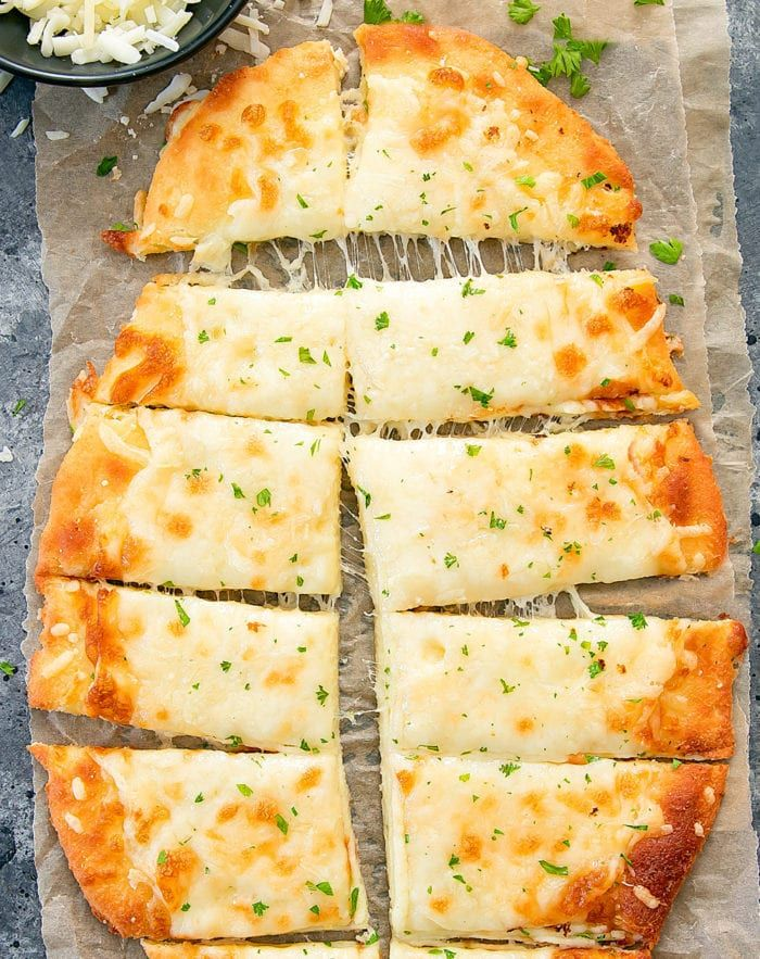Keto Breadsticks #ketodinnerrecipes